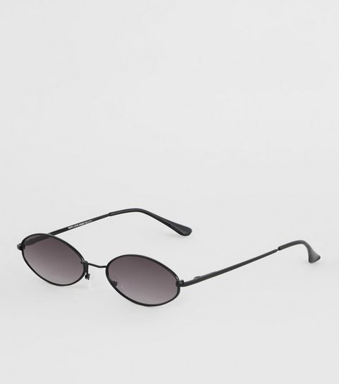 93fd75d50b Black Small Oval Sunglasses · Black Small Oval Sunglasses ...
