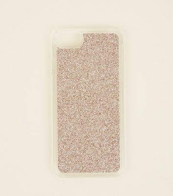 Rose Gold Glitter iPhone 6/6s/7/8 Case
