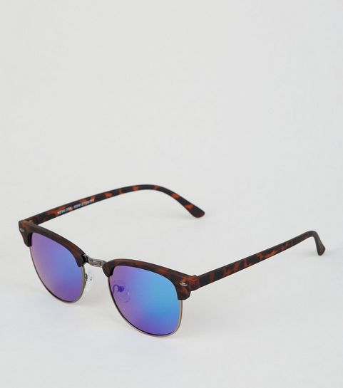 4df380e99f Brown Mirrored Rounded Sunglasses · Brown Mirrored Rounded Sunglasses ...