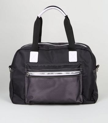 Black Holdall Sports Bag