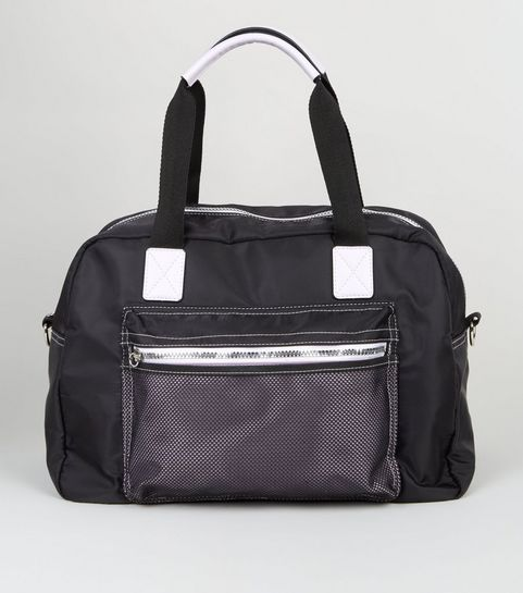 327d714a3947 Black Holdall Sports Bag · Black Holdall Sports Bag ...