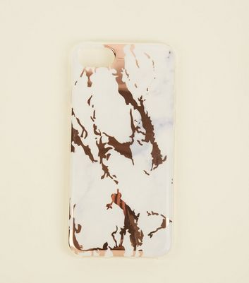 White Marble Effect iPhone 6/6s/7/8 Case