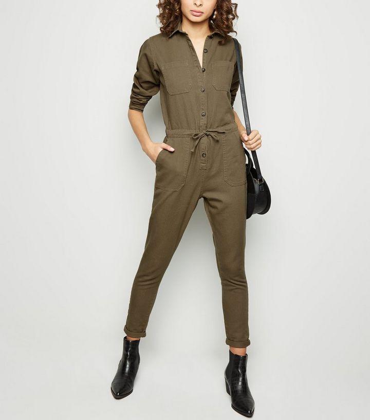 41f676ef6a1 Khaki Utility Boiler Suit