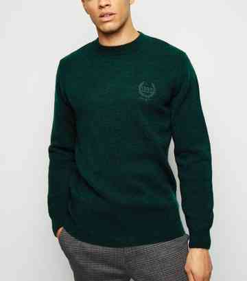 aec7ce3ff9152a Men's Knitwear | Men's Knitted & Cable Knit Jumpers | New Look