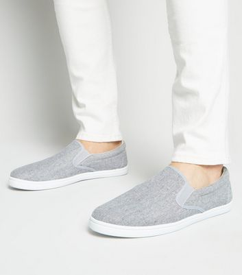 Tennis Slip On gris
