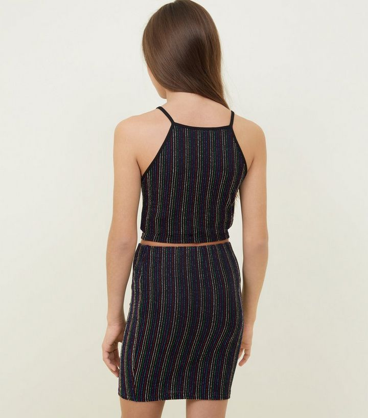 94fd4e223 ... Girls Rainbow Glitter Stripe Tube Skirt. ×. ×. ×. Shop the look