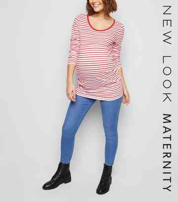 89114a93b7108 Maternity Jeans   Maternity Jeggings & Over the Bump Jeans   New Look