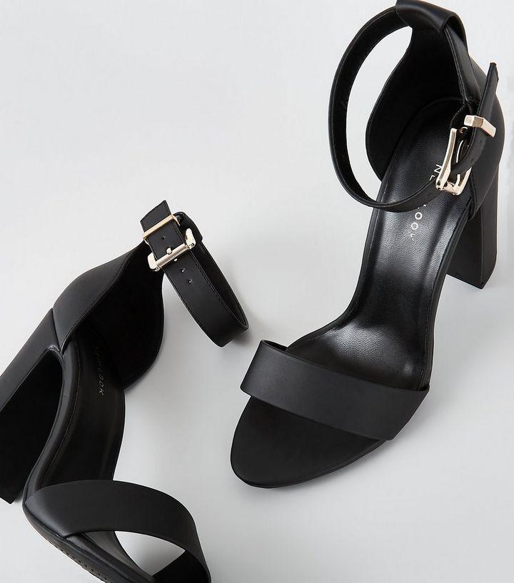 62343d76fb1 ... Black Square Buckle Block Heel Sandals. ×. ×. ×. Shop the look