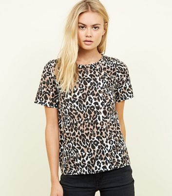 Cameo Rose Animal Print T-Shirt