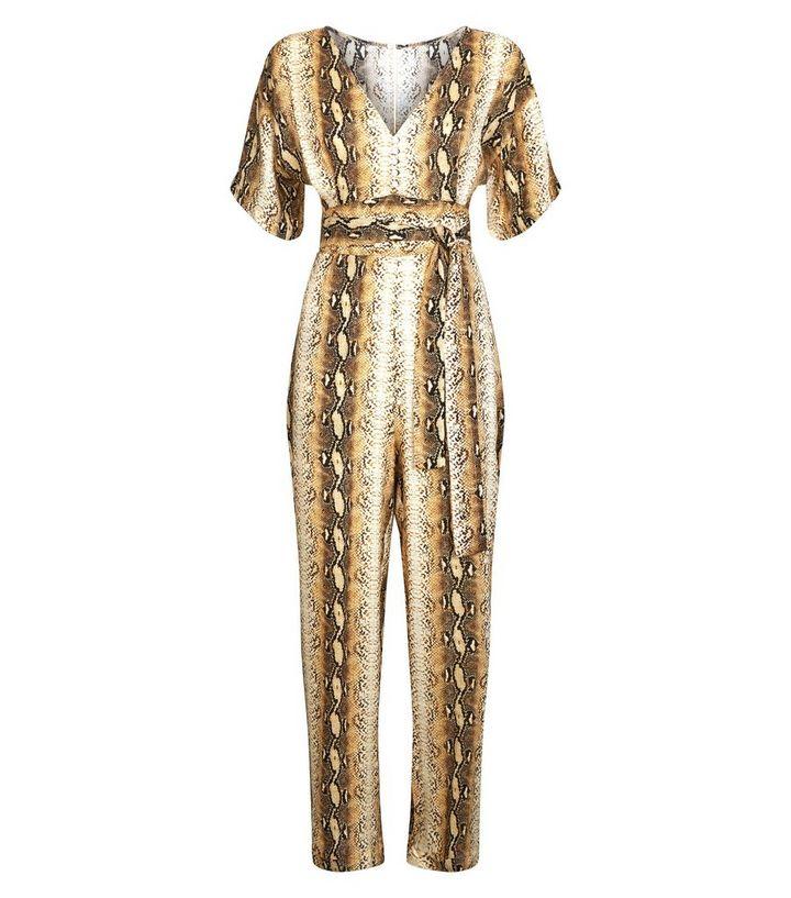 1644a467d3 ... Blue Vanilla Brown Snake Print Jumpsuit. ×. ×. ×. Shop the look