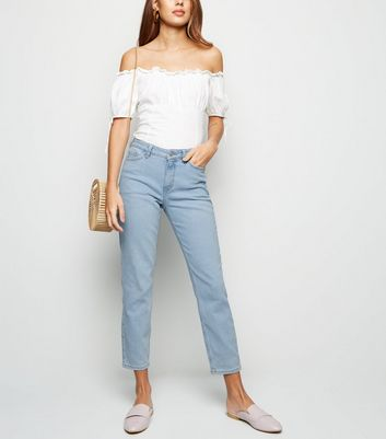 Pale Blue Relaxed Skinny Leyla Jeans