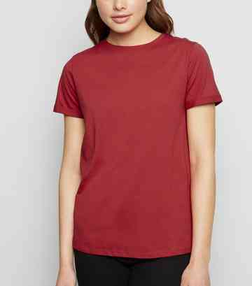 faee5d36ab44 Red Tops | Wine Red, Maroon & Burgundy Tops | New Look