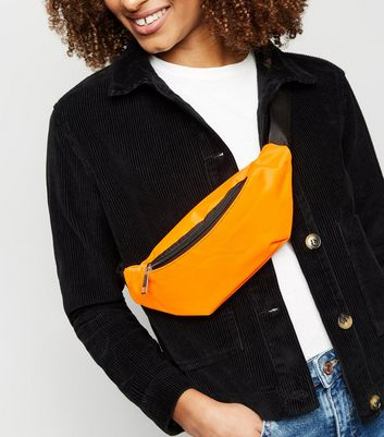 Bright Orange Neon Bum Bag