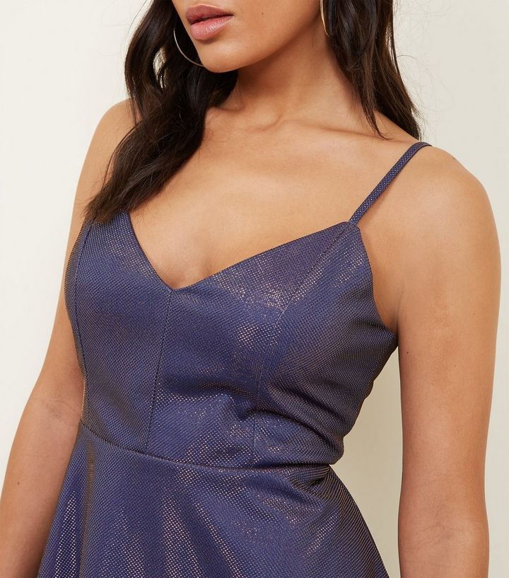 ... Cameo Rose Purple Metallic Skater Dress. ×. ×. ×. Shop the look 42a6bad9b