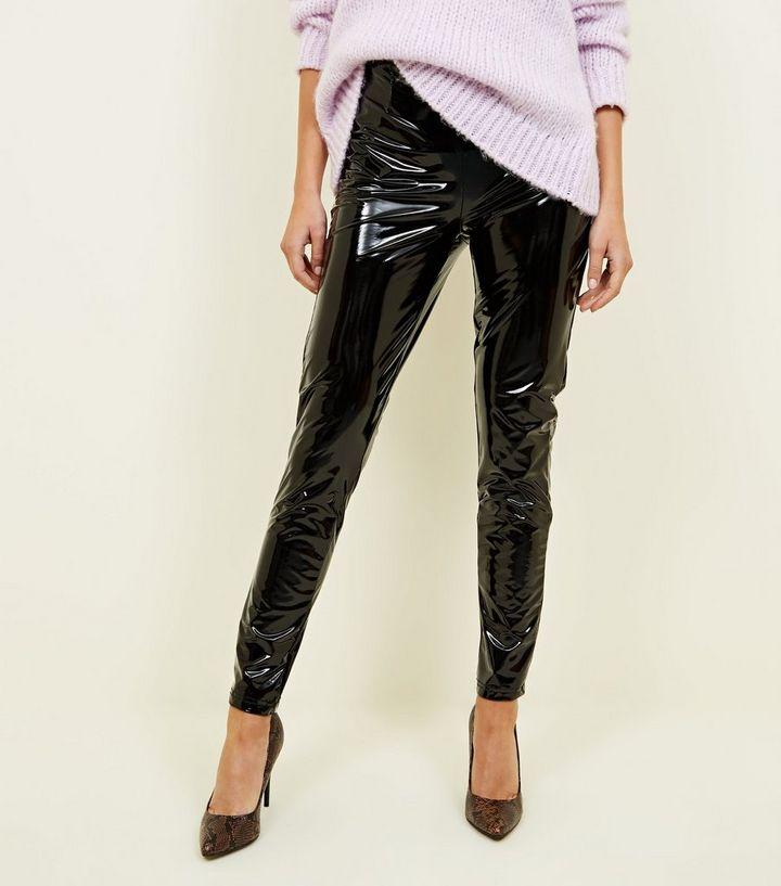 215778e0942c90 ... Parisian Black High Waist Vinyl Leggings. ×. ×. ×. Shop the look