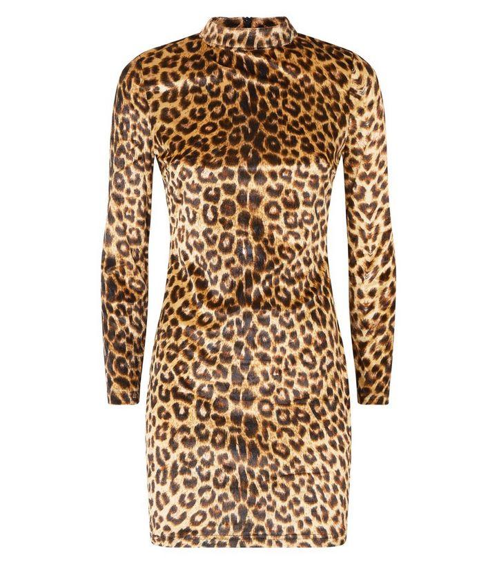 acbc489c98 ... Parisian Brown Leopard Print Velvet Dress. ×. ×. ×. Shop the look