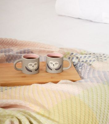 Grey Sloth Espresso Mugs