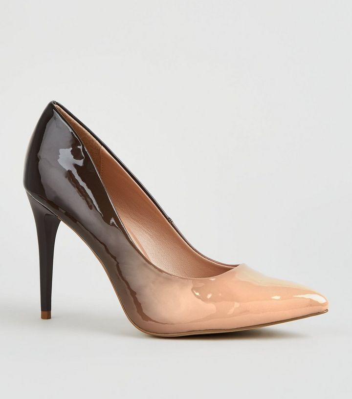 e2cc0dbf2a8 Nude and Black Ombré Pointed Courts Add to Saved Items Remove from Saved  Items