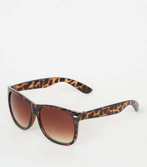 dcff48490eb5 Dark Brown Faux Tortoiseshell Sunglasses · Dark Brown Faux Tortoiseshell  Sunglasses ...