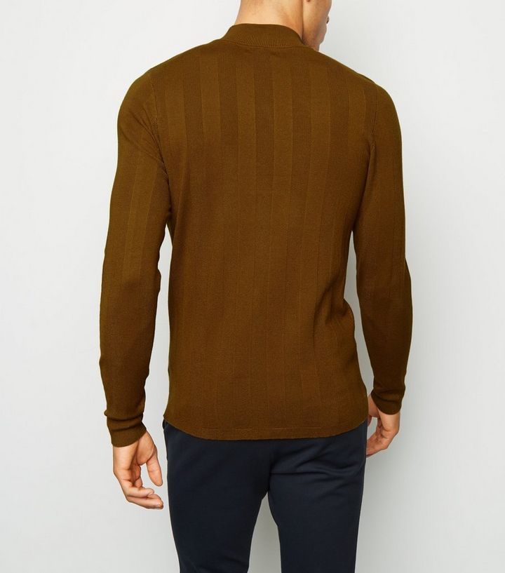 462ba63f2 ... Rust Long Sleeve Muscle Fit Jumper. ×. ×. ×. Shop the look