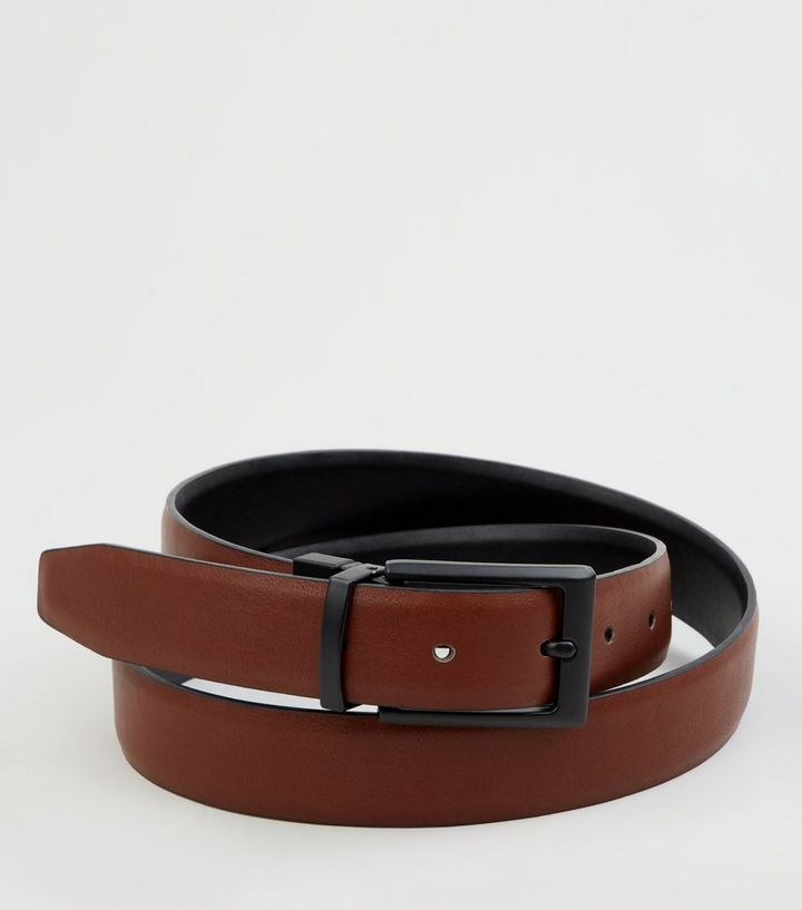 2063be7a2b0 Black and Brown Reversible Belt