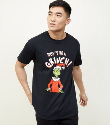 Black Don't Be A Grinch Christmas T-Shirt