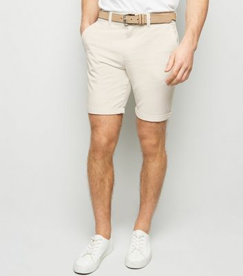 Off White Chino Shorts