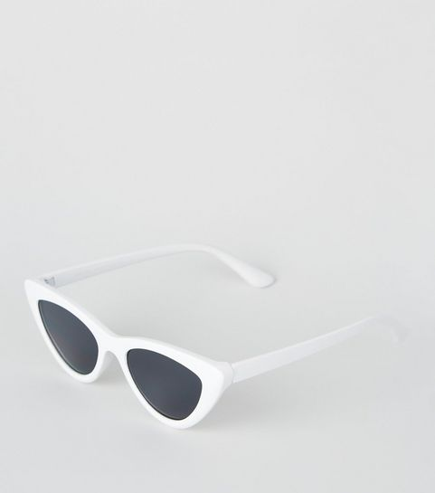 9d6a43a121 White Cat Eye Sunglasses · White Cat Eye Sunglasses ...