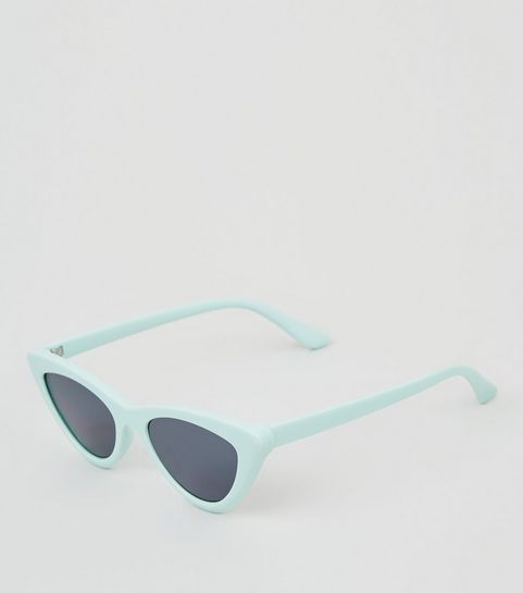 ed04e48869 ... Mint Green Cat Eye Sunglasses ...