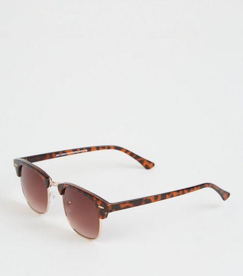 4f65c42a45103 Dark Brown Classic Style Sunglasses · Dark Brown Classic Style Sunglasses  ...