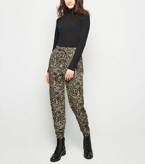 Khaki Leopard Print Joggers · Khaki Leopard Print Joggers ... c769134a13