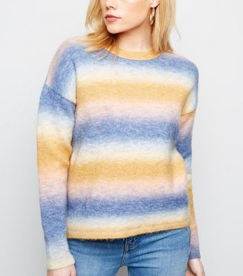 Multicoloured Ombré Jumper