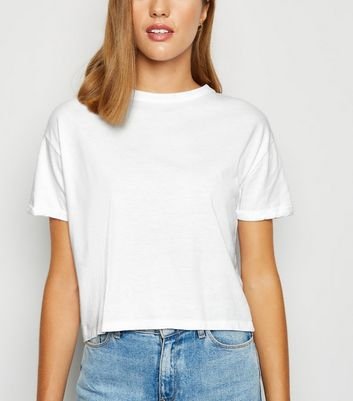 White Organic Cotton Boxy T-Shirt