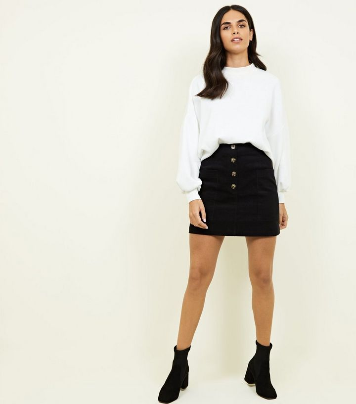 9b0702413 ... Cameo Rose Black Button Front Corduroy Skirt. ×. ×. ×. Shop the look