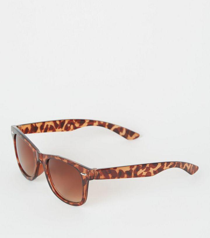 2ee747c7dcb Girls Dark Brown Faux Tortoiseshell Sunglasses