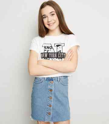 9d21bf6c29 Girls' Skirts | Denim, Maxi, & Skater Skirts | New Look