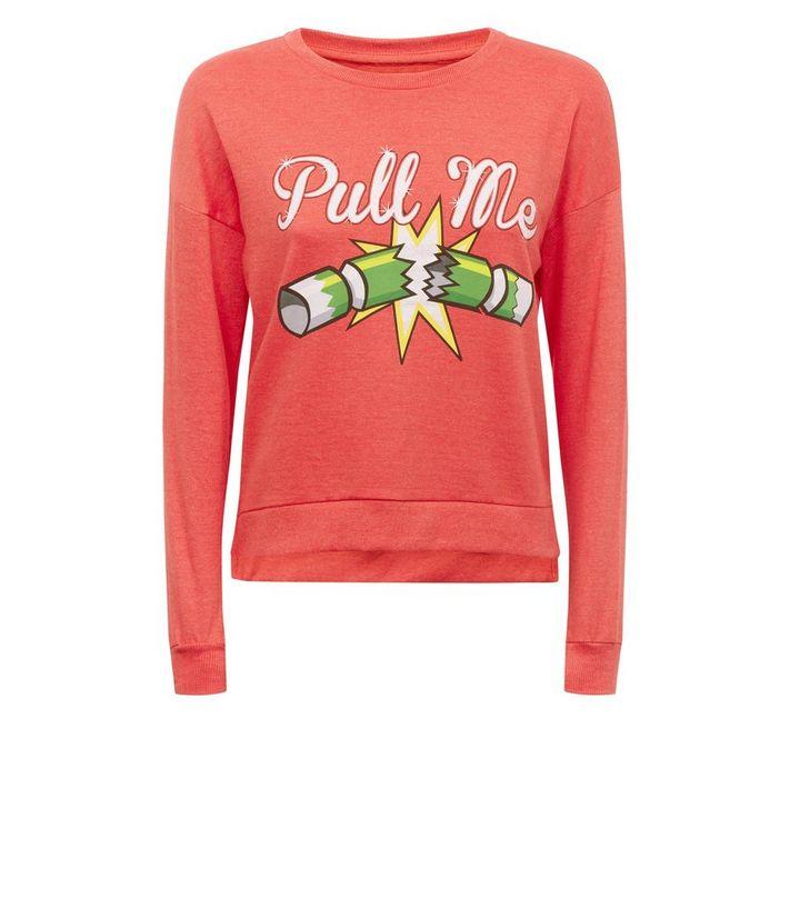 differently 82a10 bb0d0 Brave Soul – Rotes Sweatshirt mit Weihnachtscracker-Motiv Für später  speichern Von gespeicherten Artikeln entfernen