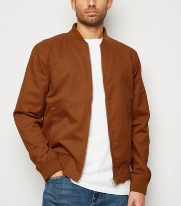 Rust Classic Bomber Jacket