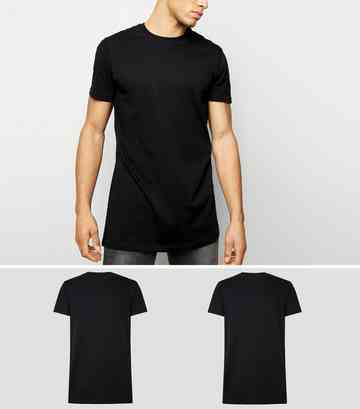 cfe4bf2a218a Men's Plain T-Shirts | Crew Neck & Roll Sleeve T-Shirts | New Look
