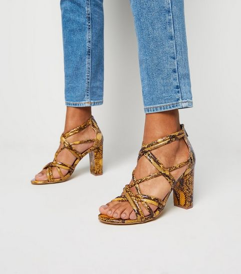 a247656cc3f Heeled Sandals | New Look