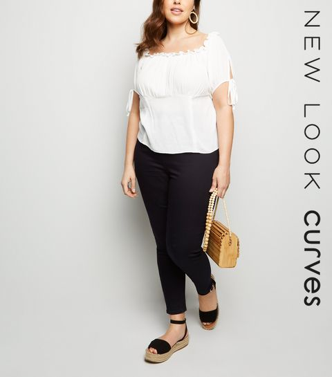 a5aa60506a4 ... Curves Black High Waist Super Skinny Jeans ...