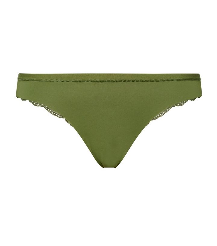 3da98b1bb8d ... Olive Lace Back Seamless Thong. ×. ×. ×. Shop the look