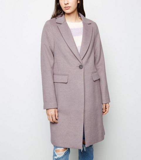 26dd3bee7 ... Lilac Single Breasted Formal Coat ...