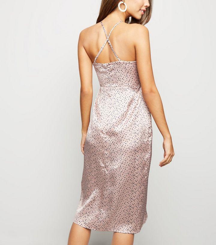 21f5d69d31c ... Blue Vanilla Pink Spot Satin Slip Dress. ×. ×. ×. Shop the look