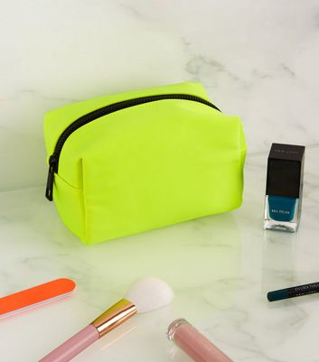 Yellow Neon Small Make-Up Bag