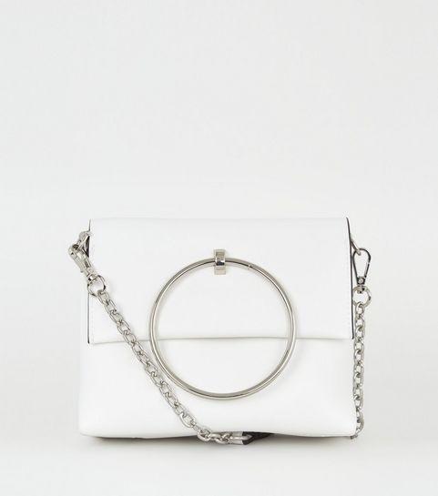 White Bags   White Handbags   Shoulder Bags   New Look 57ab8c00ca