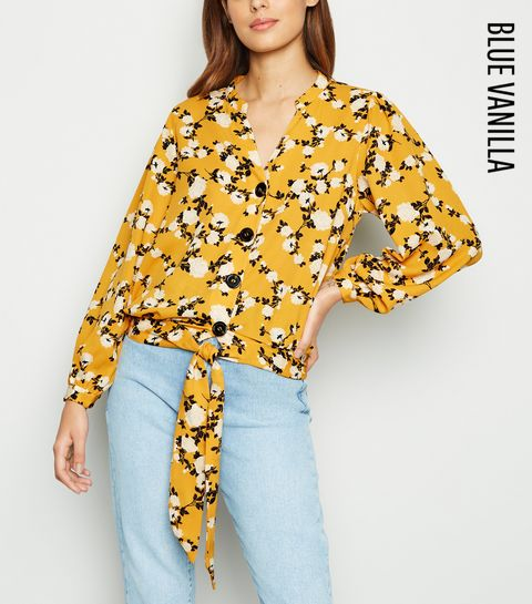5b7352735238 Remove from Saved Items. €34.99 Quick view. Blue Vanilla Yellow Floral Tie  Front Blouse · Blue Vanilla Yellow Floral Tie Front Blouse ...