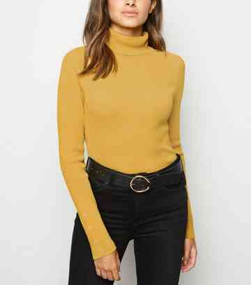 acfa671845af Turtle Neck Jumpers   Polo & Roll Neck Jumpers   New Look