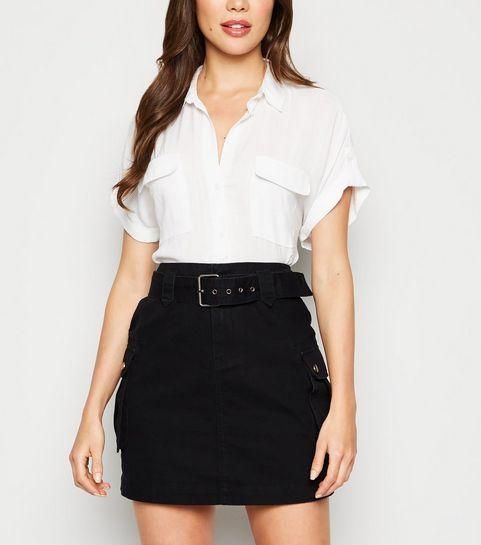 efc7b33ed Denim Skirts   Midi, White & Black Denim Skirts   New Look