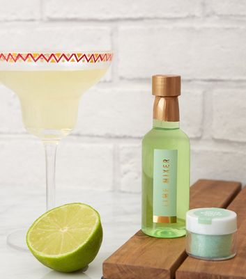 Green Lime Margarita Cocktail Set
